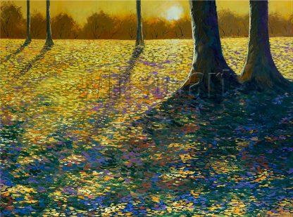 landscape textured large canvas oil painting home decor