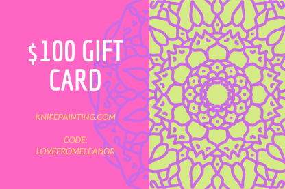 oil painting gift card