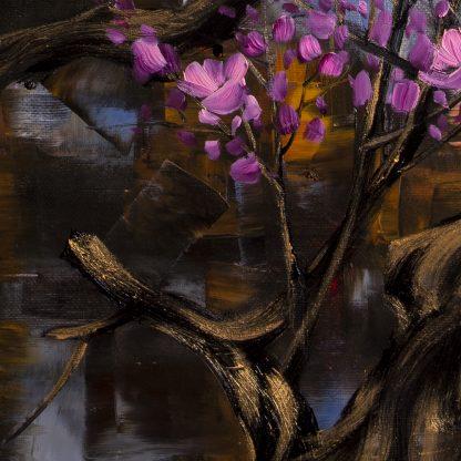 plum blossoms canvas oil painting