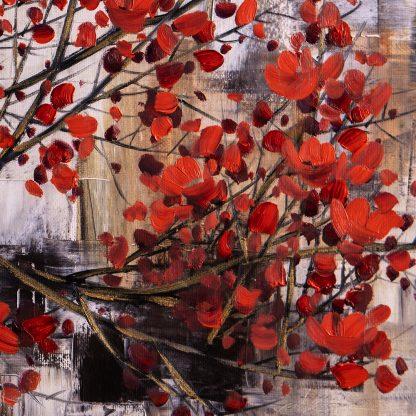 plum blossoms oil painting oversized canvas art